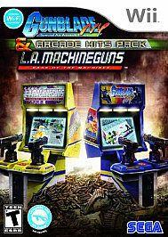 Gunblade NY & LA Machineguns Arcade Hits Pack (Wii, 2010)