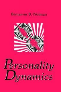 Personality Dynamics by B. B. Wilman 1991, Hardcover