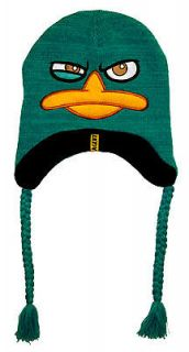 Perry The Platypus Wink Agent Phineas & Ferb Disney Adult Peruvian