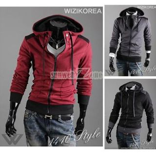 Korean Men Winter Designed Coat Jacket With Adjustable Rope 3 Color 4