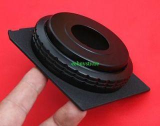 Lens Board Wih Helicoid For Linhof Wisa Shen Hao Or DIY Camera