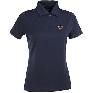 antigua women s chicago bears exceed performance polo shirt