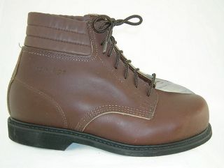 new iron age 942 mens steel toe conductive boots 9