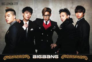 Big Bang BIGBANG G Dragon,Tae Yang,T.O.P KOREAN BAND Poster 23