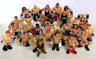 wwe wwf wrestling rumblers action figurines toys set of 15pc