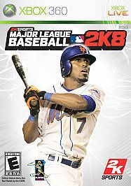 newly listed major league baseball 2k8 xbox 360 complete time