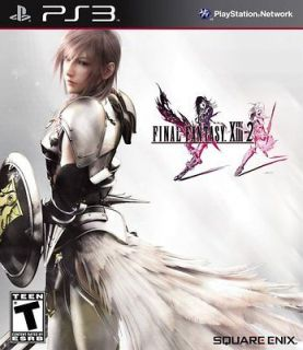 NEW★ Final Fantasy XIII 2 REGION FREE (Sony Playstation 3, 2012