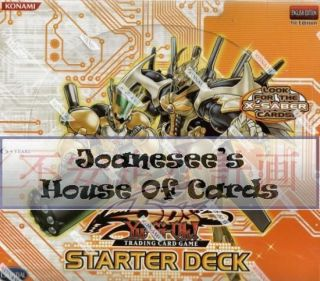 Yu gi oh 5DS2 Starter Deck 2009 Cards 5DS2 EN001   EN020 Card