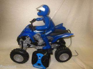 USED   Yamaha 700 Raptor Full Function ATV   Blue & Black   R/C Remote