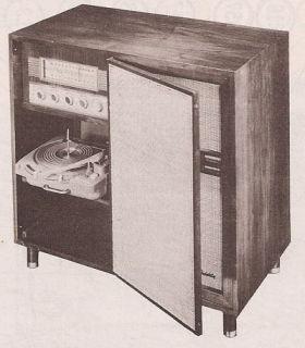 1958 ZENITH CONSOLE service manual photofact HF1290H RADIO hf1290r