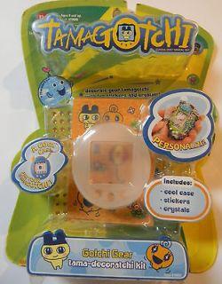 Ban Dai Tamagotchi Gotchi Gear Tama Deco Ratchi NEW   CLEAR WHITE  Add