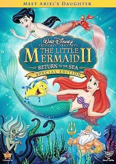The Little Mermaid II  Return to the Sea (DVD, 2008, Special Edition)