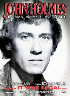 John Holmes The Man, The Myth, The Legend DVD, 2004, Explicit Director