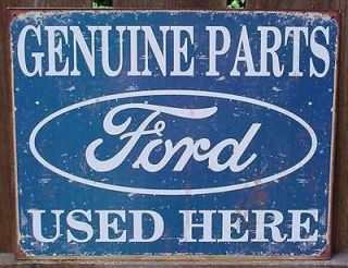 Ford Parts Car Lot Garage Gas Station Shop Sign Bar Hot Rat Rod