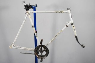 Vintage 1971 Peugeot Road Bicycle Frame Set 62cm bike Sugino