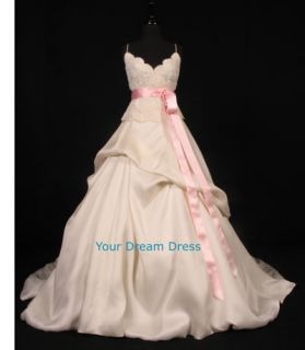 Light Pink Bridal Satin Ribbon Sash 2 w x 4 1 2yds New