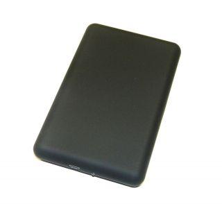 BLACK SOFT TOUCH 2 5 SATA USB HARD DRIVE CADDY CASE ENCLOSURE