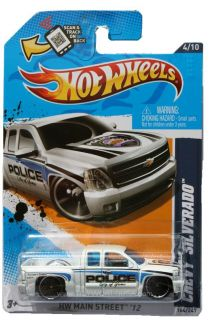 2012 Hot Wheels HW Main Street 164 Chevrolet Silverado