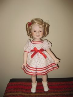 20th Century Fox Film Shirley Temple Porcelain Doll