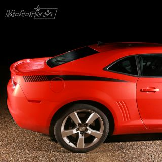 2010 & up Chevrolet Camaro Quarter Panel Strobe Side Stripes decal kit
