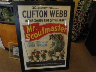 Nice 20th Century Fox Scoutmaster Poster