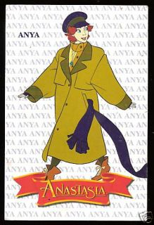 Anya Anastasia Argentina Card 1998 20th Century Fox