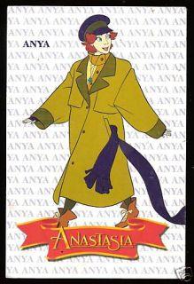 Anya Anastasia Argentina Card 1998 20th Century Fox
