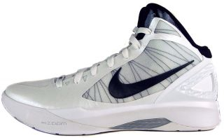 Nike Zoom Hyperdunk 2011 TB Sz 12.5 Mens Basketball Shoes White/Black