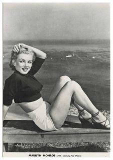 Marilyn Monroe 20th Century Fox Player Postcard