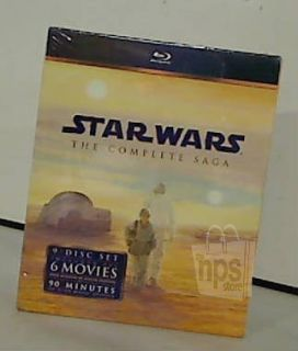 20th Century Fox Star Wars The Complete Saga 9 Disc Blu Ray DVD Set