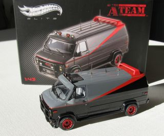 Hot Wheels Elite 20th Century Fox The A Team GMC Van 1 43 Scale