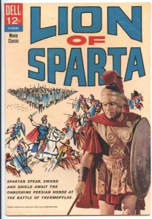 of Sparta 1962 FN Comic Adaptation of 20th Century Fox Film