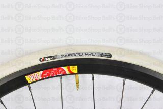 Vittoria Zaffiro PRO Tire 700x23 WHITE Track Fixed Gear Road