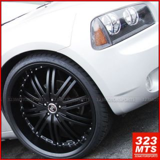 24 inch wheels FORD Crysler 300C 2Crave #11 Dodge Magnum CHARGER RIMS