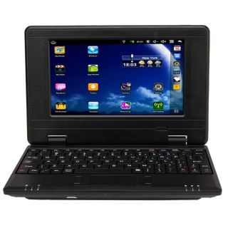 New 7 Via 8650 Mini Netbook Laptop Android 2 2 800MHz 256MB 4GB WiFi