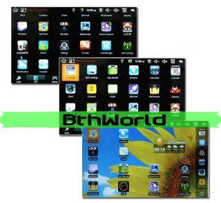Android 2.2 VIA 8650 Flash 10.1 256MB Wifi Mini Netbook Laptop BK