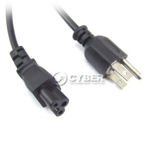 US 3 Prong Laptop Adapter Power Cord Cable Lead 3pin New Hot Sale DZ88