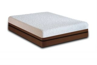 New Coolbreeze 10 Queen Gel Memory Foam Mattress Bed