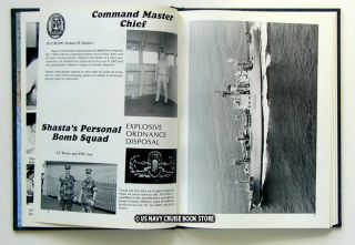 USS Shasta AE 33 Cruise Book Westpac 1989