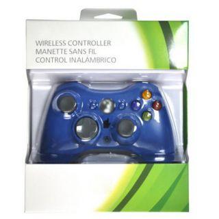Blue Wireless Remote Controller for Microsoft Xbox 360 Xbox360