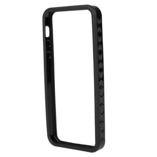 Black Bumper TPU Silicone Frame Case Protect for Apple New iPhone 5 5G