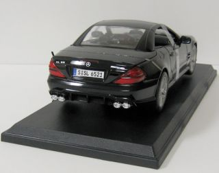 Mercedez Benz SL65 AMG Diecast Model Car   Maisto   118 Scale
