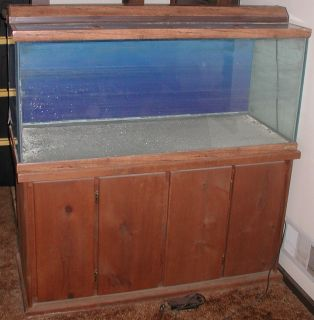 75 Gallon Oceanic Aquarium Fish Tank and Stand
