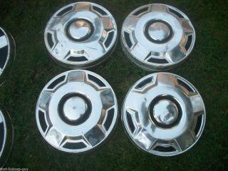Ford Truck F 150 Hubcaps Hub Caps Van E 150 Dog Dish 15 Steel Wheel