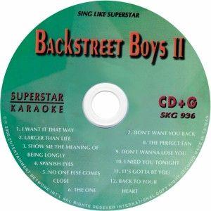 cd g set karaoke backstreet boys n sync 98 degrees
