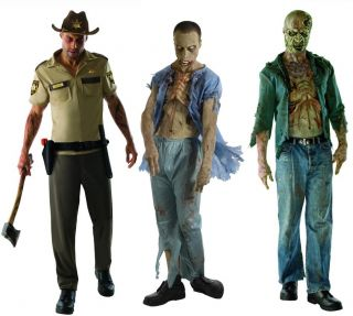 The Walking Dead Decomposed Zombie Dead Patient Rick Grimes Set