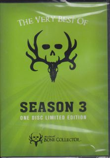 BONE COLLECTOR Season 3 Best of ~ Michael Waddell ~ Hunting DVD