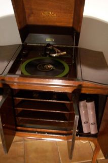 Victor Victrola VV 260 Talking Machine Rare Antquie Record player 1921
