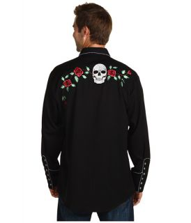 Scully Skull Roses Shirt    BOTH Ways