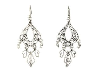 Lucky Brand Silver Openwork Oblong With Dangles $26.99 $29.00 SALE